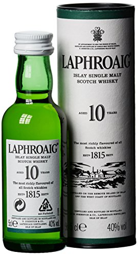 Laphroaig 10 Years Old Whisky (1 x 0.05 l)