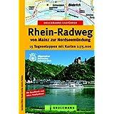 Bruckmanns Radführer Rhein-Radweg