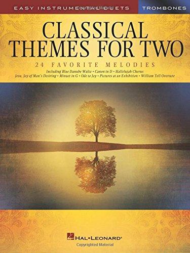 Classical Themes -For Two Trombones-: Noten, Sammelband für Posaune