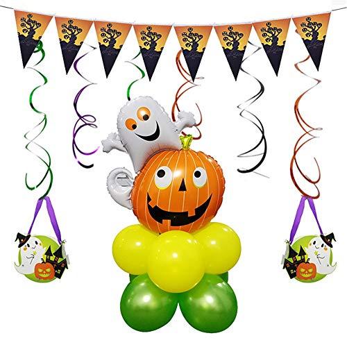 Post Runde Kürbis Aluminiumfolie Ballon Dekoration Inneneinrichtung ()