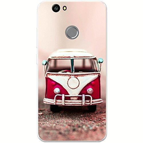 Altes Wohnmobil Pop Art Hartschalenhülle Telefonhülle zum Aufstecken für Apple iPhone 6 PLUS / 6s PLUS Altes Wohnmobil Rot