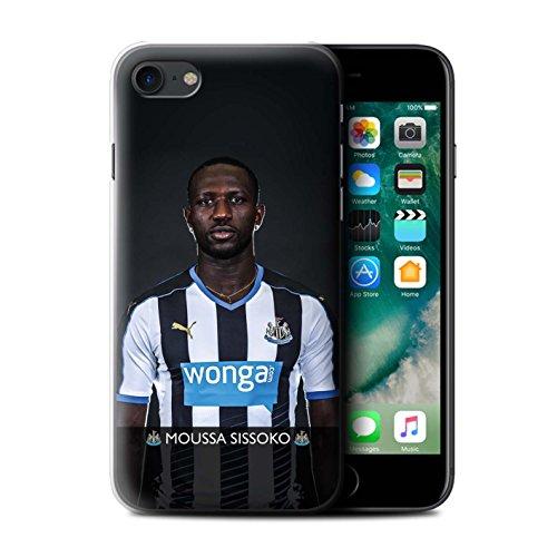 Offiziell Newcastle United FC Hülle / Case für Apple iPhone 7 / Pack 25pcs Muster / NUFC Fussballspieler 15/16 Kollektion Sissoko