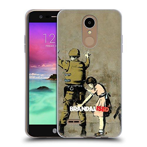 Preisvergleich Produktbild Offizielle Brandalised Soldat Banksy Kunst Street Tag Soft Gel Hülle für LG K8 (2017) / M200N