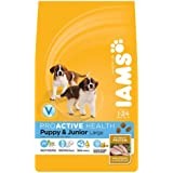 Iams Puppy/Junior Dry Dog Food Large Breed Chicken 3 kg (Pack of 3)
