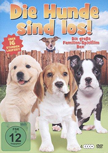 Die Hunde sind los [4 DVDs] Preisvergleich