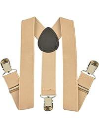 CrayonFlakes Boy's Cotton & Elastane Suspender Y-Back Stretchable Free Size