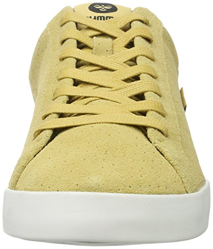 Hummel Herren Cross Court Suede Low-Top Beige (Fall Leaf)