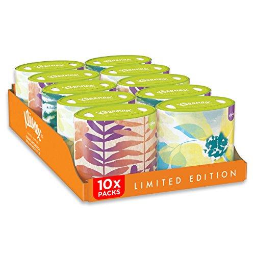 Kleenex, Fazzoletti in confezione ovale, 10 confezioni (10 x 64 pz.)