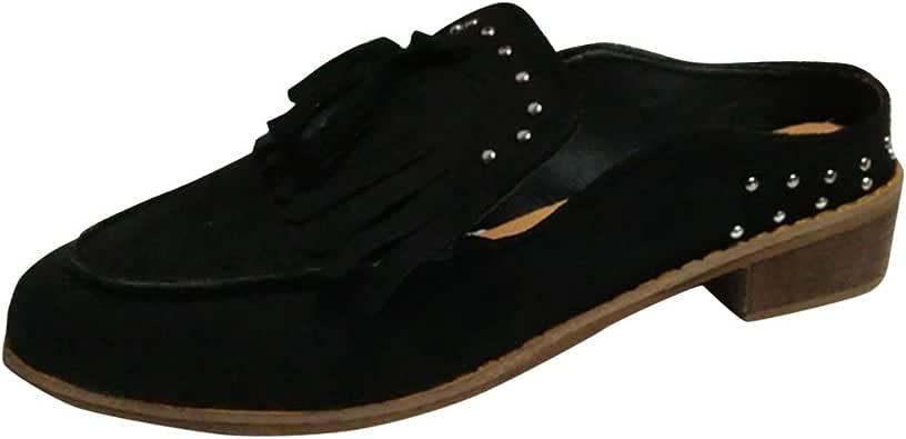 NPRADLA Femmes Nouvelles Chaussures De Mode Casual Bottes Longues Nou/ées Au NOU Au Genou Chaussures Plates
