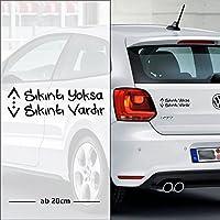 Cukur sıkıntı yoksa sıkıntı vardır | Auto Aufkleber | Türk Dizi Çukur