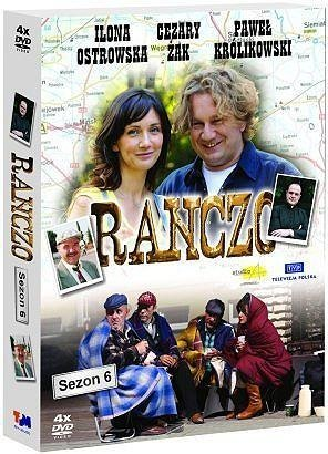 Ranczo Sezon 6 serial TV (DVD 4 disc) (PAL System) by Cezary Zak, Pawel Krolikowski Ilona Ostrowska