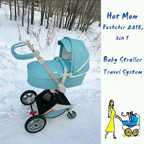 Winter Kits pour poussette Hot Mom image4