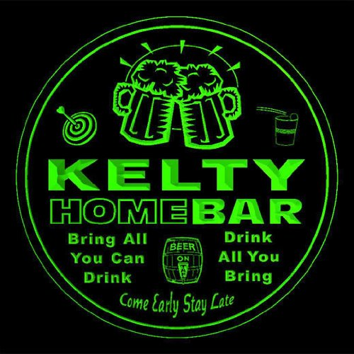 4x-ccq22981-g-kelty-family-name-home-bar-pub-beer-club-gift-3d-coasters