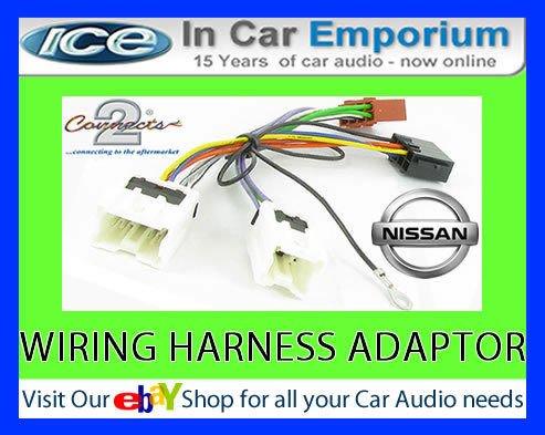 Nissan Pathfinder CD radio stereo cablaggio Adattatore loom ISO convertitore - Nissan Radio Cablaggio