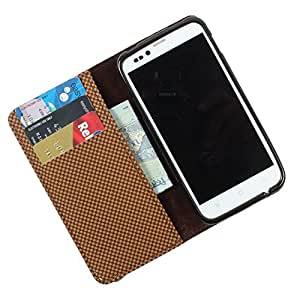 For Lava Xolo A600 - PU Leather Wallet Flip Case Cover