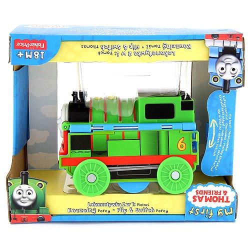 Mattel 25CDM24 Thomas Et Ses Amis - Mon Premier - Locomotive - 2 en1