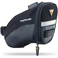Topeak Aero Wedge QR - Alforja para bicicleta (fácil ensamblaje) negro negro Talla:Small ?16.99