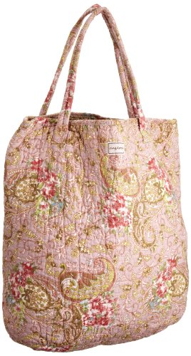 Ringarose Medium Shopper Paisley Rose -, Borsa shopper donna Rosa (Light Pink)
