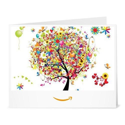 Amazon.de Gutschein zum Drucken (Geschenkbaum) -