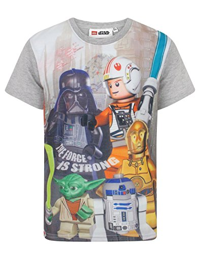 orce Is Strong Boy's T-Shirt (6 Years) (Han Und Leia Kinder)