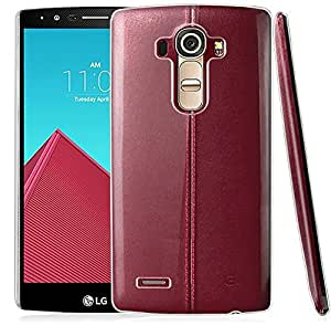 Jacket Lg G4 Case, (Hard Crystal Case) with Premium Clear Hard PC Case Cover Hybrid Protective Case Cover For Lg G4