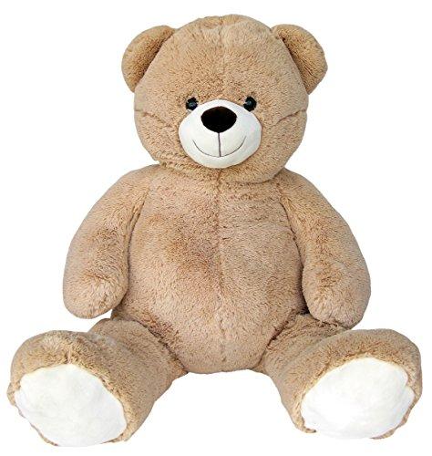 Preisvergleich Produktbild Wagner 9033 - Riesen XXL Teddybär 140 cm groß in hell-braun - Plüschbär Kuschelbär Teddy Bär in beige 1,40 m
