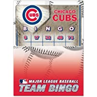 Desconocido MLB Chicago Cubs–Juego de bingo