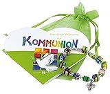 Gottes Segen zur Erstkommunion: Segensarmband mit Herzheft