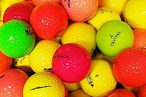 lbc-sports LbcGolf Bunte Fun gemischte Golfbälle 25 Stück - AAAA - AAA - bunt...