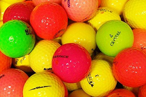 LbcGolf 25 balles de Golf colorées Qualité supérieure...