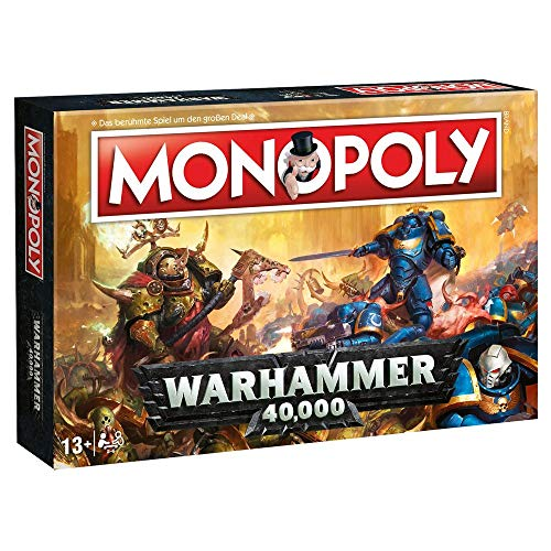 Warhammer 40.000 - Monopoly - Deutsche Version | 40k | Games Workshop (Brettspiel Warhammer Fantasy)