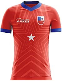 Airo Sportswear 2018-2019 Chile Home Concept Football Soccer T-Shirt Camiseta