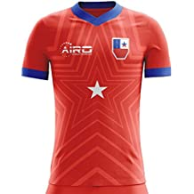 Airo Sportswear 2018-2019 Chile Home Concept Football Soccer T-Shirt Camiseta (Kids