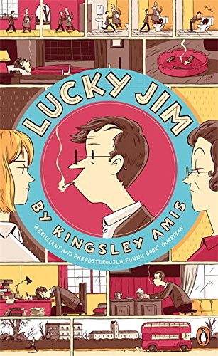 Book cover for Lucky Jim