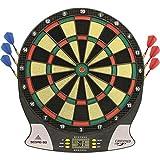 Carromco Electronic Dart Board Score 2nd Generation 92016 Mixte Adulte, Black, Red, Green, Yellow