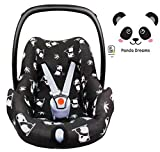 Fabs World PANDA ** BabyFit 100% Jersey ** Housse de protection pour Maxi-Cosi...