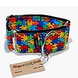 CandyPet Baumwolle Halsband für Hunde Puzzle Martingal 4cm (30-50cm)