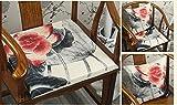 HZJ Memory-Schaum bietet Luxus Komfort weichen Sitzkissen gibt Steißbein Schmerzlinderung Auto Sitzkissen Bürostuhl Steißbein Kissen Schmerzen lindern, e, 40 * 40CM