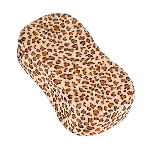 yuyte leopard print nail art cuscino manicure morbido spugna la mano poggia gli strumenti per unghie salon holder cusion