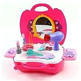 Kit di Bellezza per Ragazza Prima Educazione Giocattolo 12 Pezzi  per Bambini 3 Anni