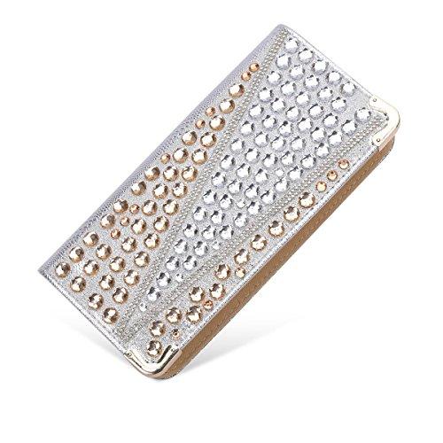 YOUAREFACNY Beauty Case da viaggio oro Gold 1 taglia unica Silver 3