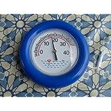 Anillo termómetro para piscina, grande ablese quemador, 19cm de diámetro