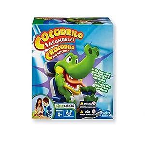 Hasbro – Cocodrilo sacamuelas, Juego de Habilidad (B04081750) (versión en alemán)