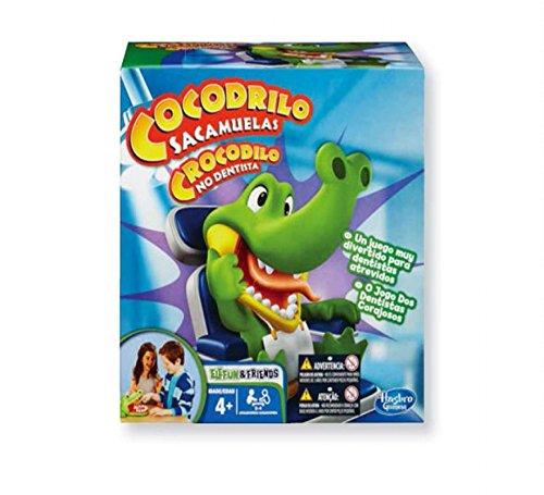 Hasbro Spiele - Kroko Doc, Geschicklichkeitsspiel, Kinderspiel ab 4 Jahren (italienische Version)