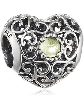 Pandora Damen-Charm Herz 925 Silber - 791784