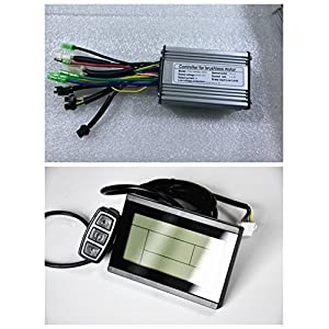 517s7y54u4L. SS300  - NBPOWER 36V/48V 350W 17A Brushless DC Motor Controller Ebike Controller +KT-LCD3 Display One Set,used for 350W Ebike Kit.