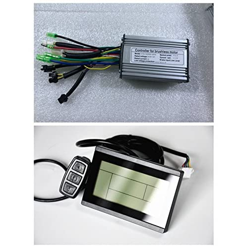 NBPOWER 36V/48V 350W 17A Brushless DC Motor Controller Ebike Controller +KT-LCD3 Display One Set,used for 350W Ebike Kit…