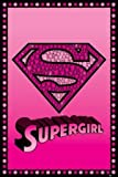 Supergirl Bling Logo Maxi Poster, Multi-Colour