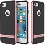 """iPhone 7 Plus (5.5"""") Case,AUDOS *Royce Series PC + TPU* Double Layer Hybrid Back Cover Case for *APPLE IPHONE 7 Plus (5.5"""")* (Rose Gold)"""