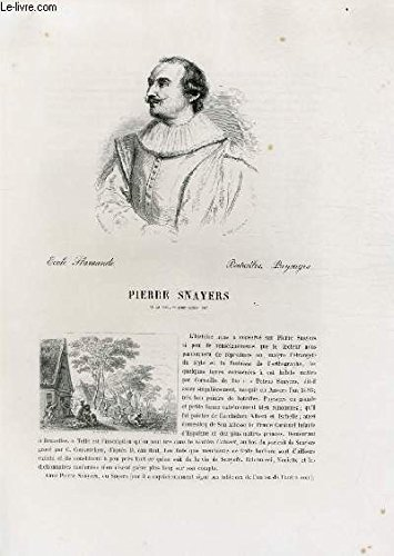 Biographie de Pierre Snayers (1593-1662) ; Ecole F...